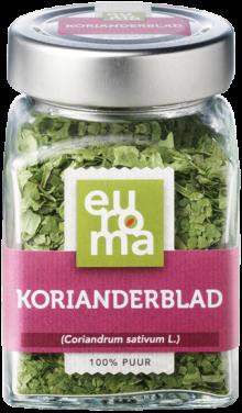 Korianderblad