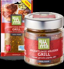 samen Argentijnse kruiden grill
