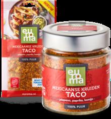 samen Mexicaanse taco